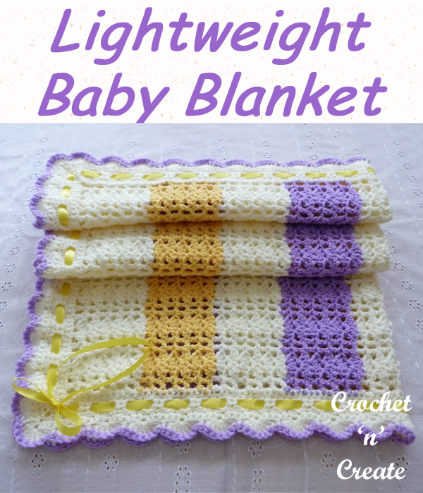lightweight baby blanket