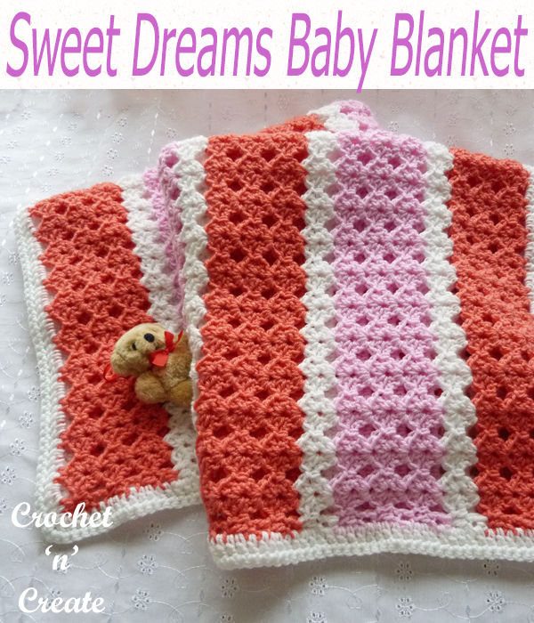 sweet dreams baby blanket