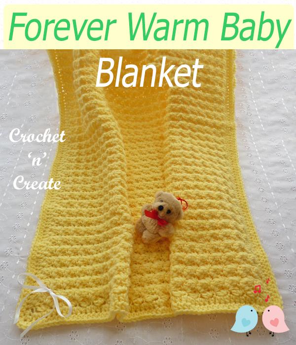 forever warm baby blanket