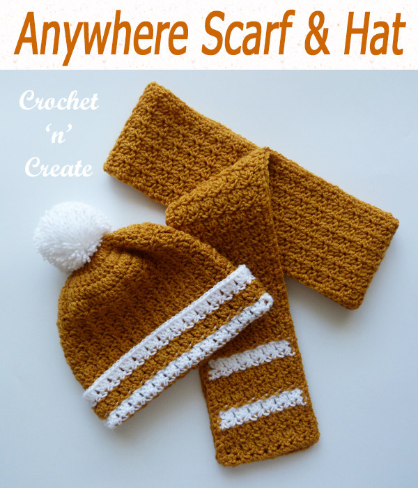 anywhere scarf and hat
