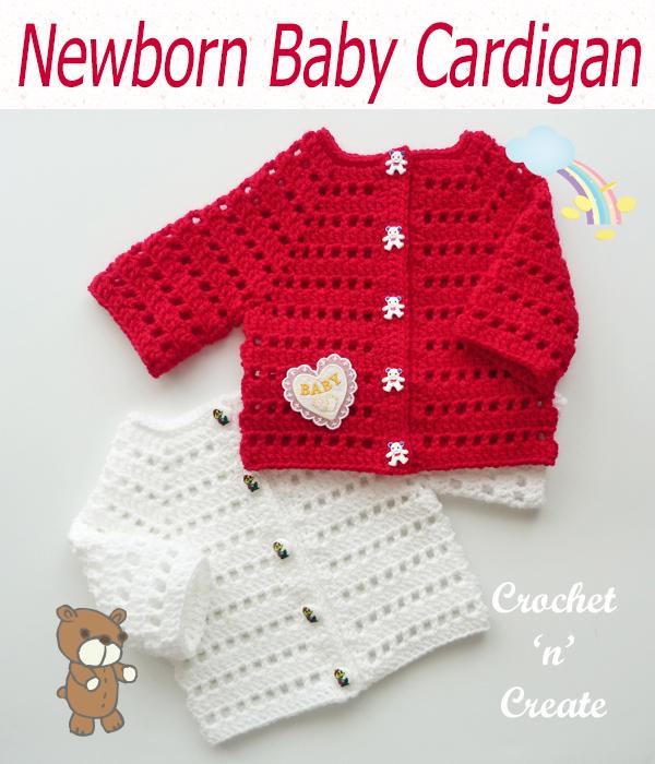 newborn baby cardigan