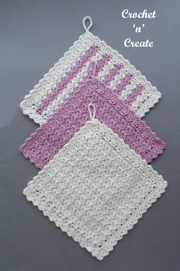 hanging dishcloth