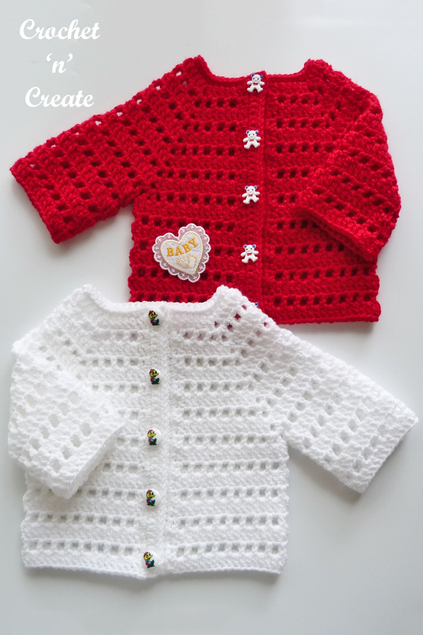 two baby cardi's