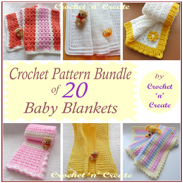 baby blanket crochet bundle