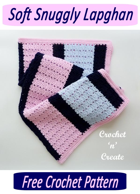 crochet soft snuggly lapghan
