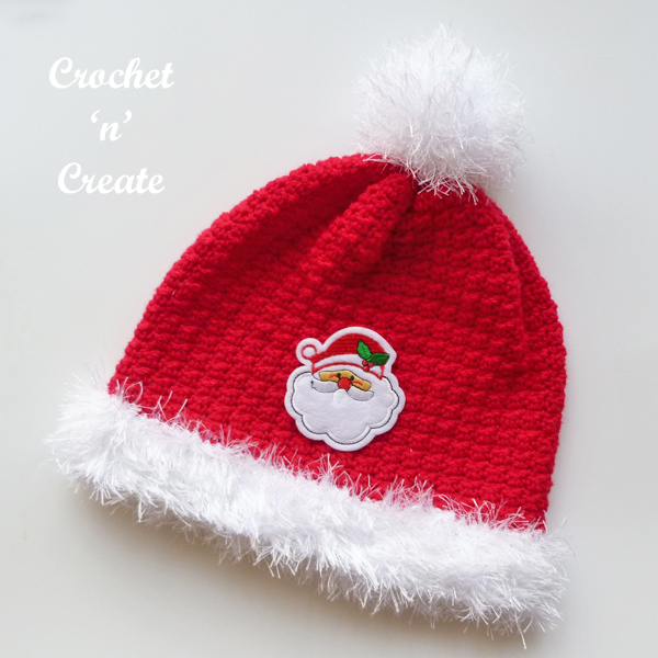 christmas crochet hat pattern