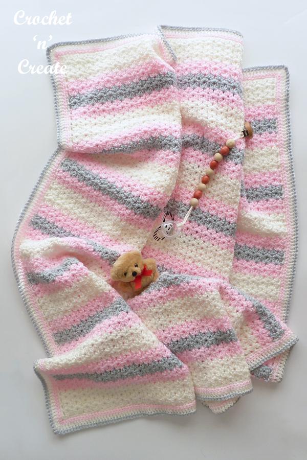cluster-v stitch blanket