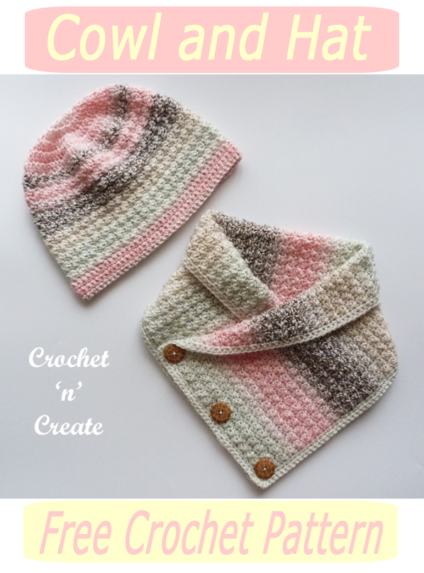 crochet cowl-hat pattern