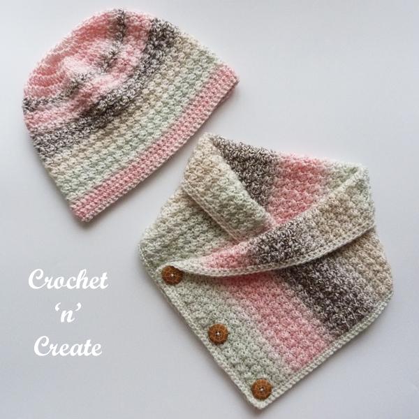crochet cowl-hat pattern