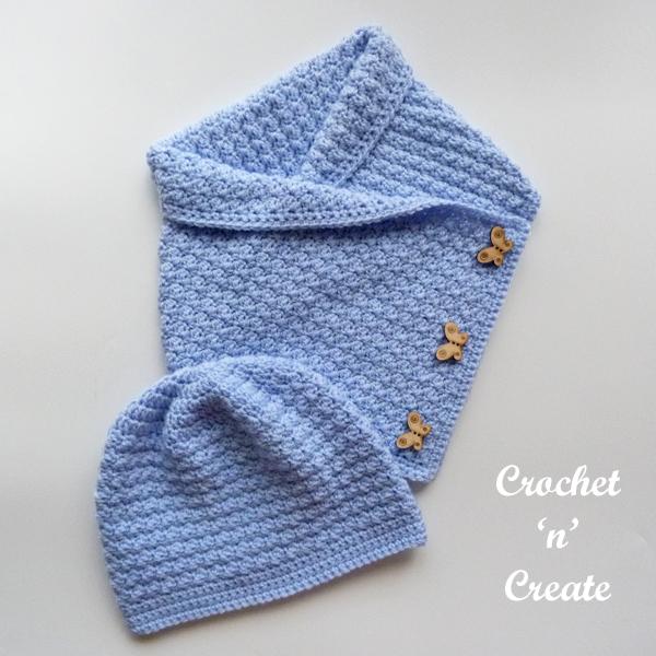 blue hat-cowl