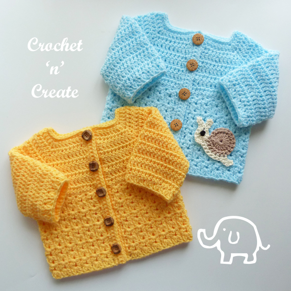 crochet matinee jacket pattern