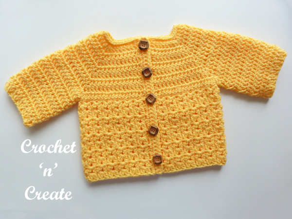 yellow baby coat