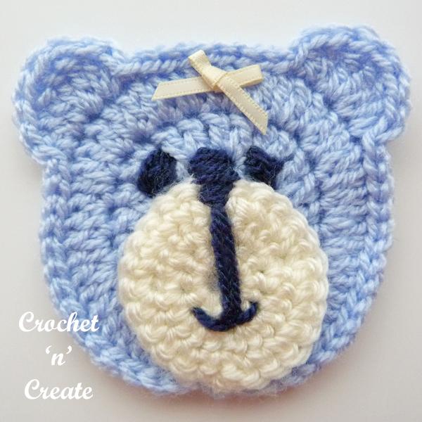 blue bear face