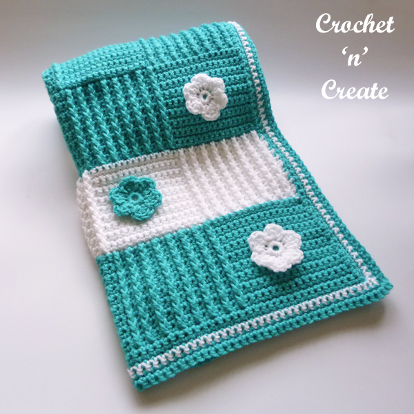 crochet blocks lapghan pattern