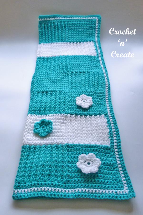 crochet blocks lapghan pattern