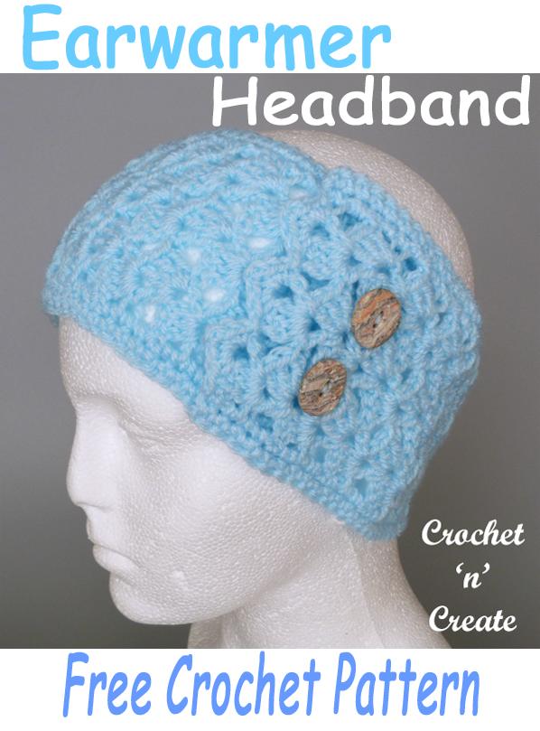 crochet earwarmer headband pattern