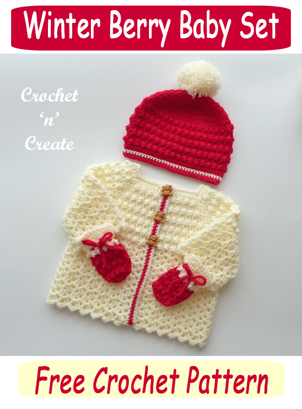 winter berry baby set