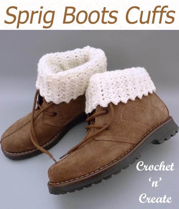sprig boot cuffs