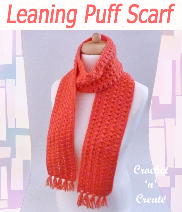 leaning puff scarf