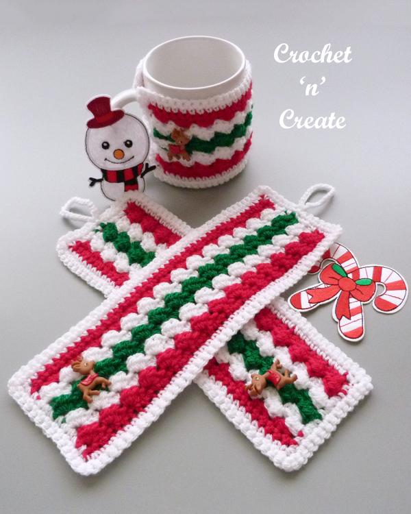 christmas mug cover