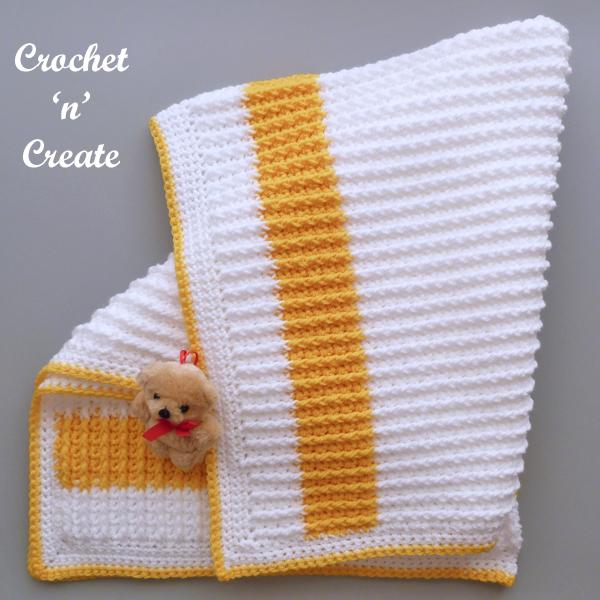 raised stitch blanket