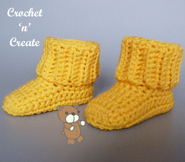 cuff booties