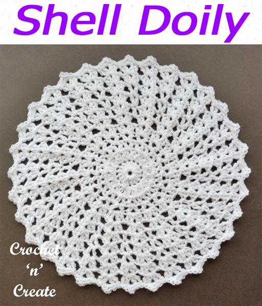 shell doily