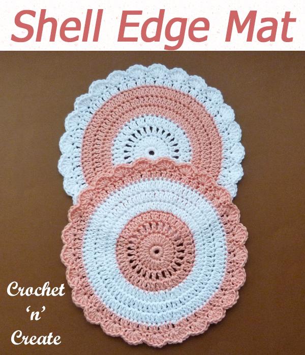shell edge mat