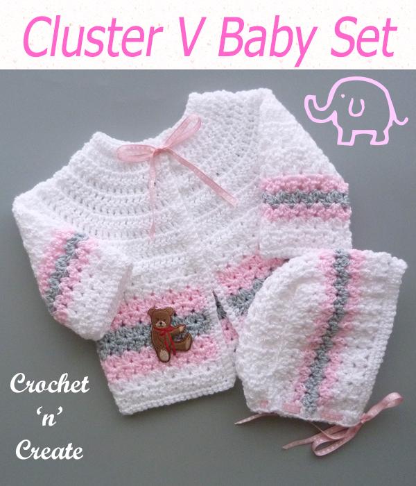 cluster v baby set
