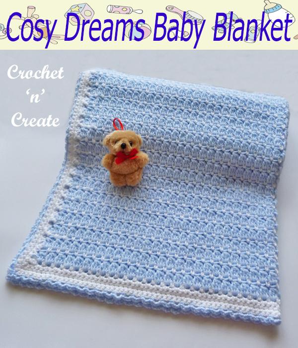 cosy dreams baby blanket