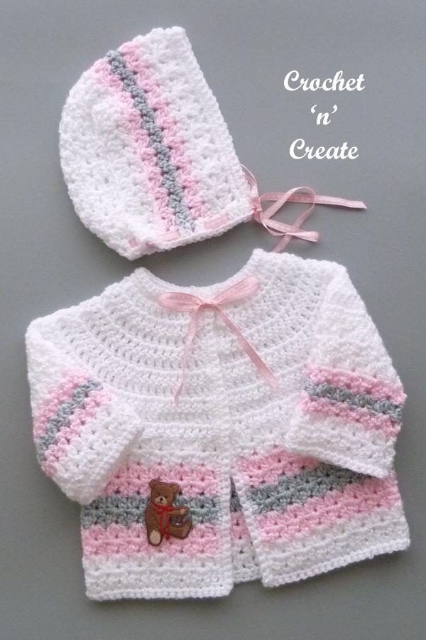 crochet hat-coat
