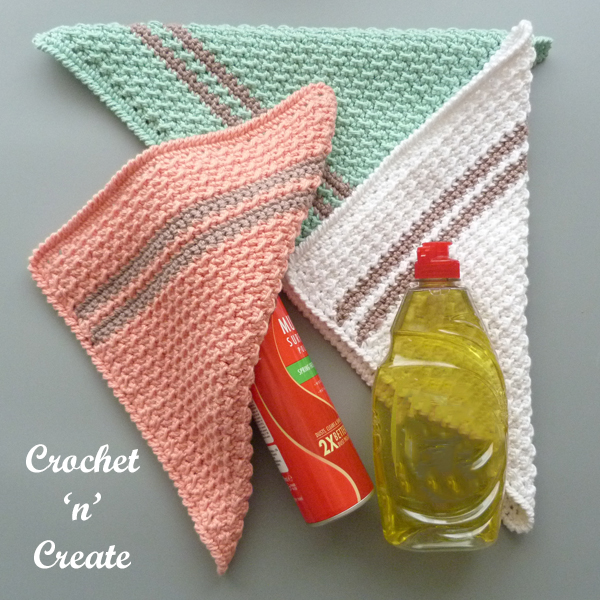 kitchen cloth crochet pattern