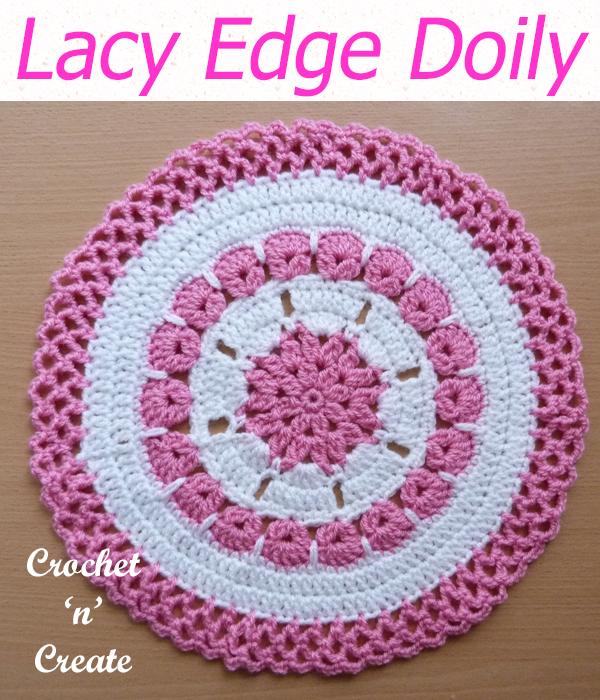 lacy edge doily