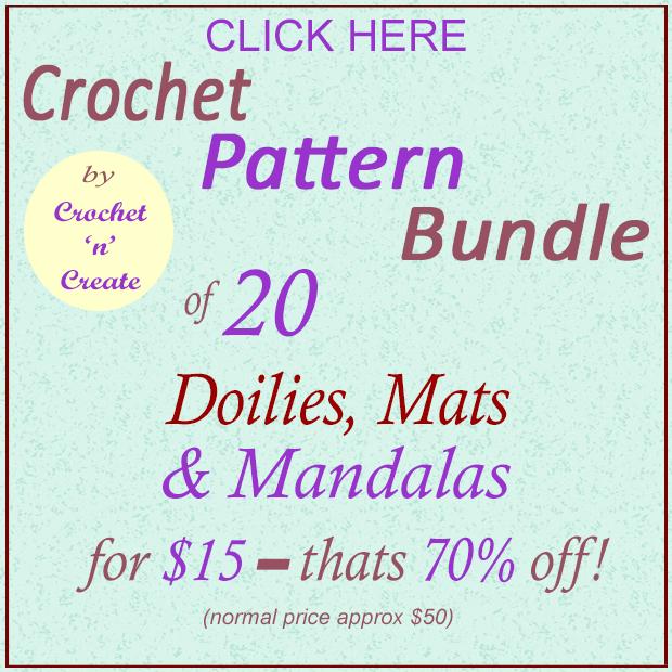 Doilies-Mats-Mandalas Crochet Bundle