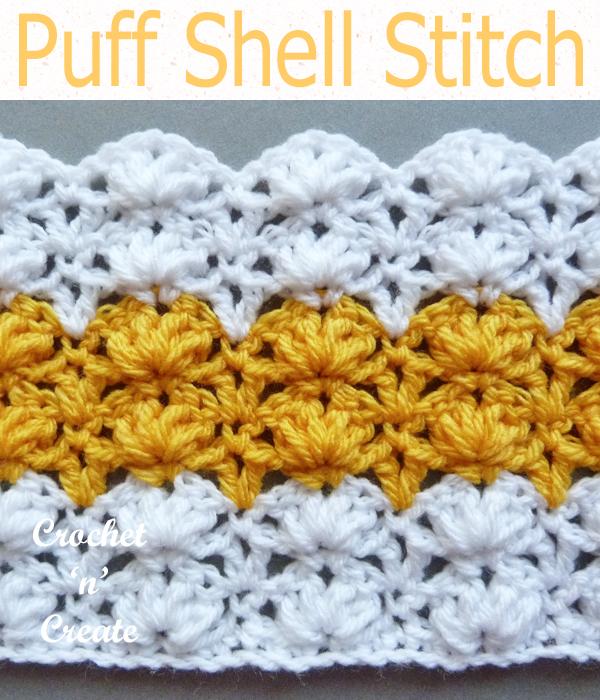 puff shell stitch