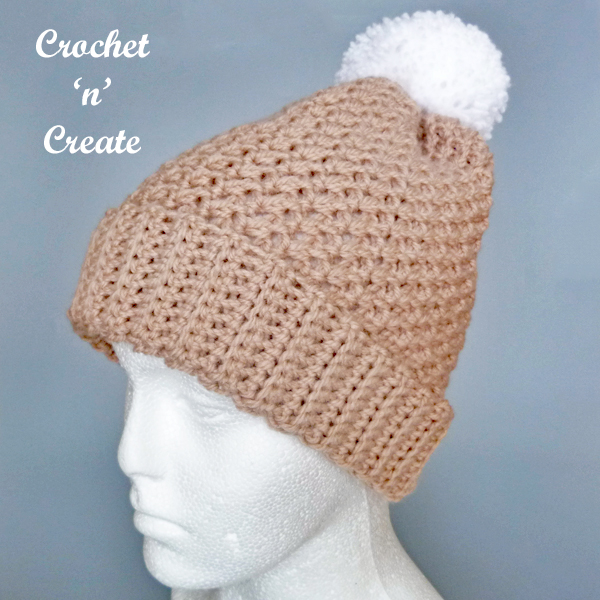 crochet winter chill hat