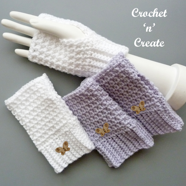 winter chill fingerless gloves