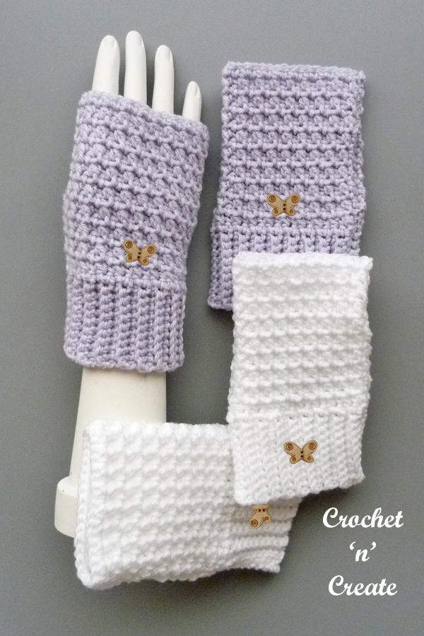 winter chill fingerless gloves