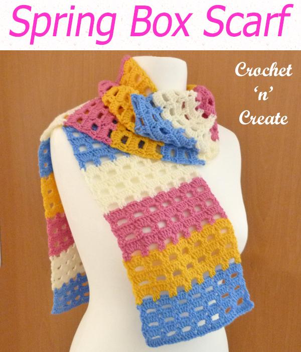 spring box scarf