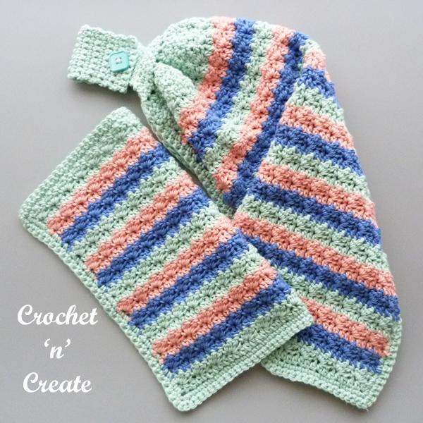 crochet cloth-dishtowel pattern