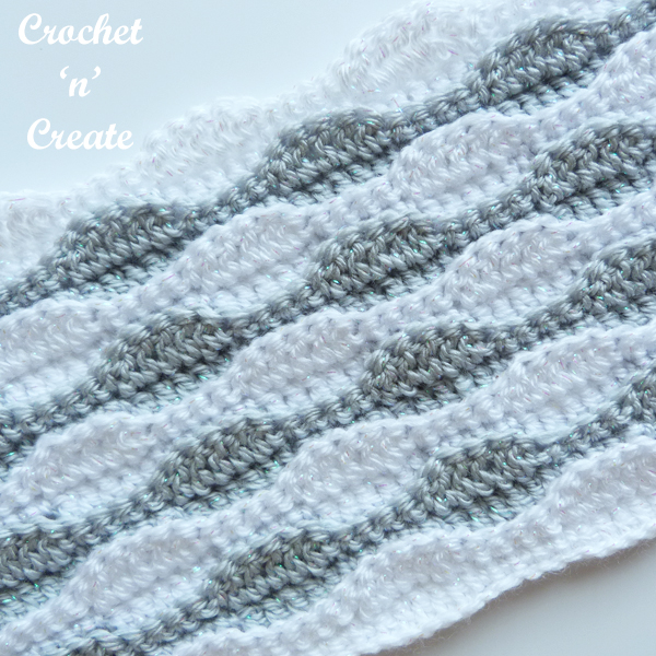 coastal wave stitch tutorial