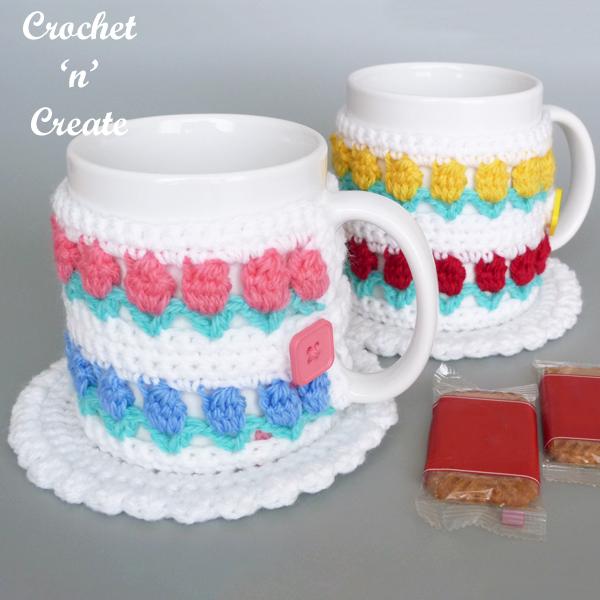 Crochet Coaster Mug Warmer