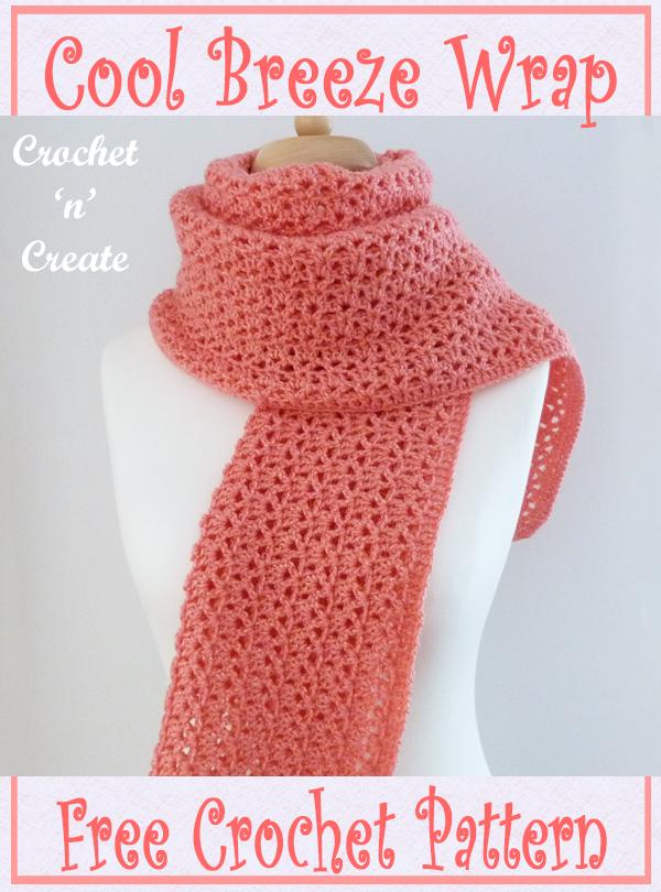 crochet cool breeze wrap