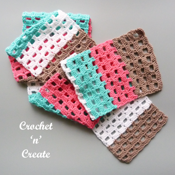 boxed block scarf