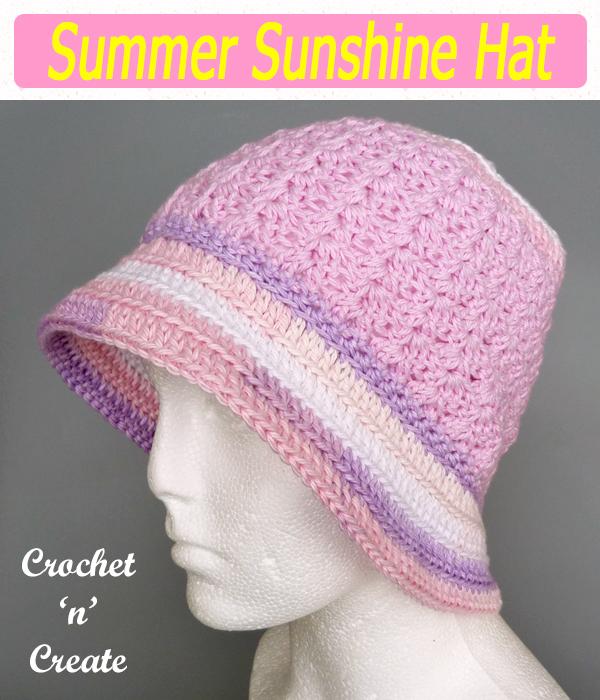 summer sunshine hat