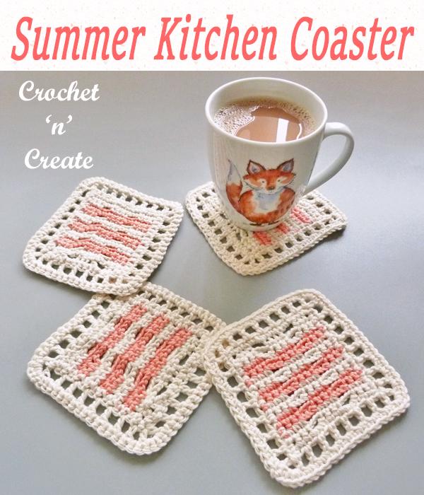 summer kitchen coaster