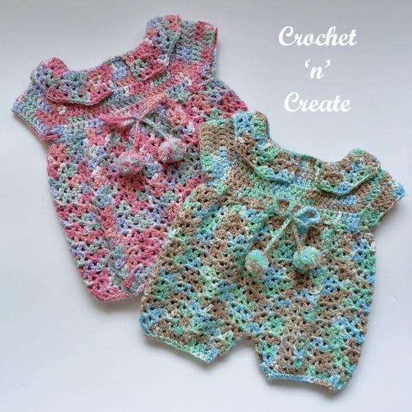 Free crochet jumpsuits patterns