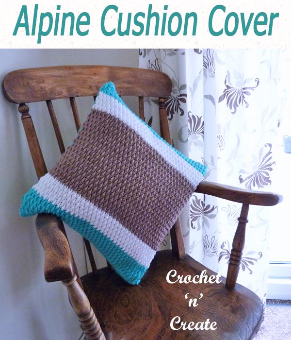 alpine cushion cover