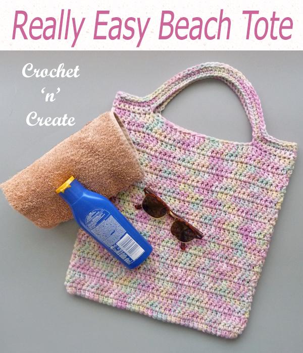 really easy beach tote