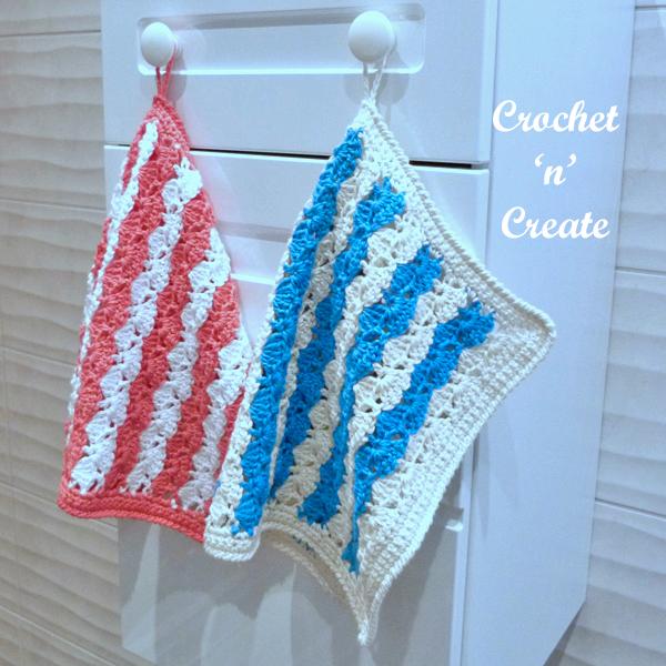 crochet cotton soft towel